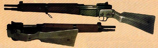 Homebashed French CR 39 (MAS 36) para-rifle